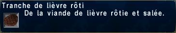 Lièvre rôti