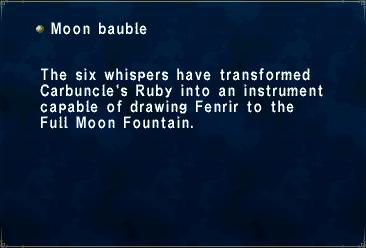 Moon Bauble