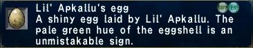 Apkallus egg