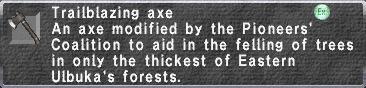 Trailblazing Axe