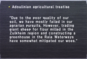 Agricultural treatise