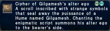 Cipher-gilgamesh