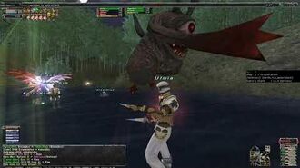 FFXI - THF with trust party taking on Kabandha