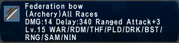 Federation bow