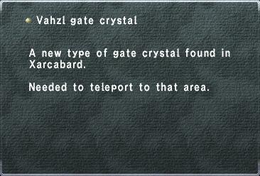 Vahzl Gate Crystal