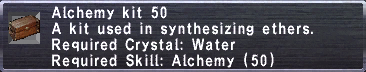 Alchemy Kit 50