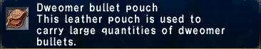 Dweomer bullet pouch