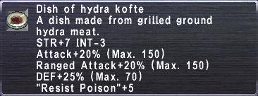 Hydra kofte