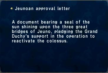 Jeunoan approval letter