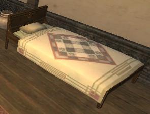 Mahogany Bed MH