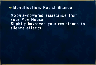 Moglification Resist Silence