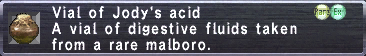 Jody's Acid