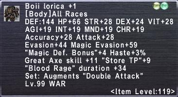 Boii Lorica +1