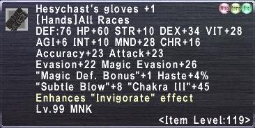 Hesychast's Gloves Plus 1