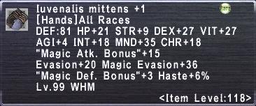 Iuvenalis Mittens +1
