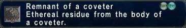 Coveter remnant