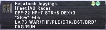 Hecatomb Leggings