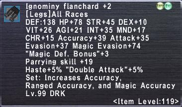Ignominy Flanchard +2