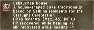 Lebkuchen house