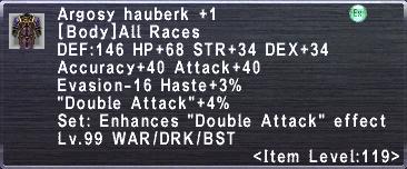 Argosy Hauberk +1