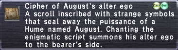 Cipher August