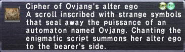Cipher ovjang