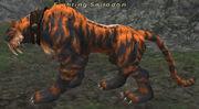 Fighting Smilodon