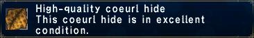 HQ coeurl hide