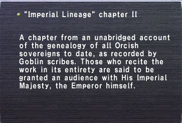 Imperial lineage chapter ii