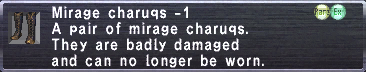 Mirage Charuqs -1