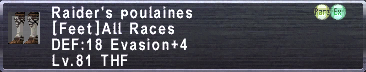 Raider's Poulaines
