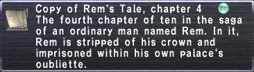 Rem's Tale, chapter 4