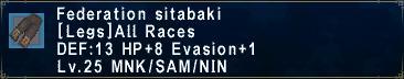 Federation Sitabaki