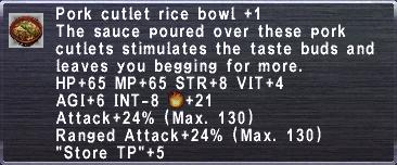 Pork Cutlet Bowl +1