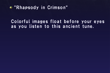 Rhapsody in Crimson