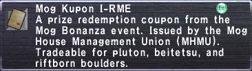 Kupon I-RME