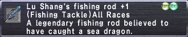 Lu Shang's fishing rod +1