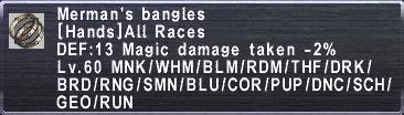 Merman's Bangles