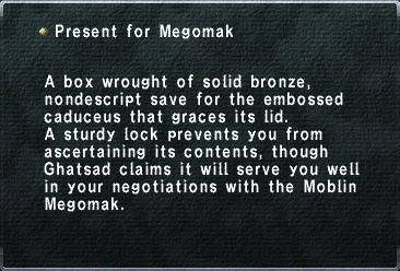 Present for Megomak