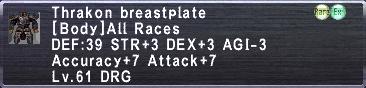 Thrakon Beastplate