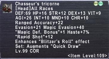 Chasseur's Tricorne