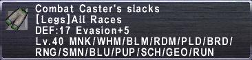 Combat Caster's Slacks
