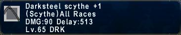 Darksteel Scythe+1
