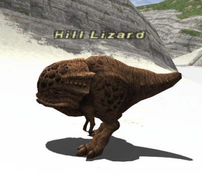 Image result for hill lizard ffxi