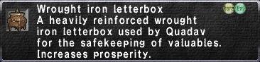 WroughtIronLetterbox