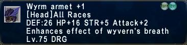 WyrmArmet +1