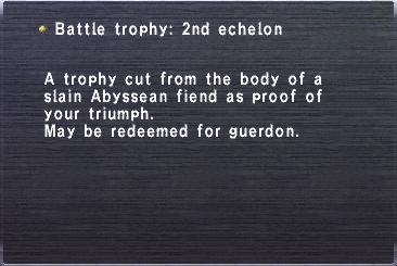 2nd echelon