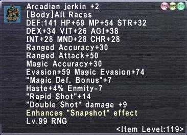 Arcadian Jerkin +2