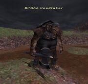 Bi'Gho Headtaker (Present day version)