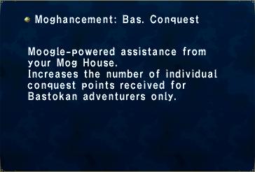 Moghancement- Bastok Conquest
